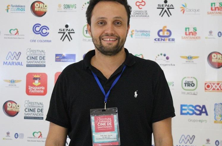 Coordinador Académico del Fics, Luis José Galvis. / Foto: Alejandra Rivera