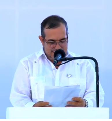 """Rodrigo Londoño, alias """"Timochenko"""", máximo comandante de las Farc-EP."""