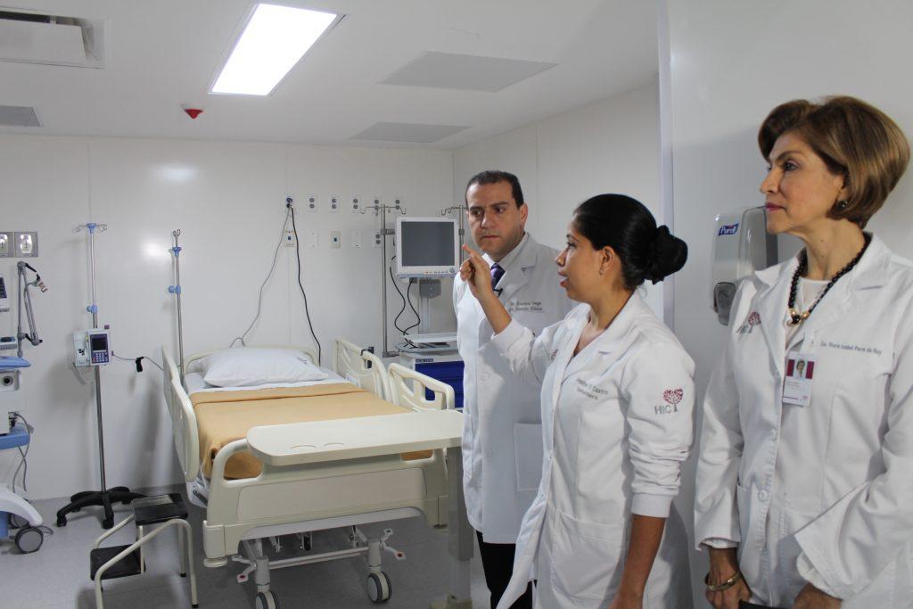 El Hospital Internacional de Colombia, HIC, contará con la mayor cantidad de Unidades de Cuidados Intensivos, UCI, en todo el país. Fotografía: Giovanny Bayona – Periodista Periódico 15.