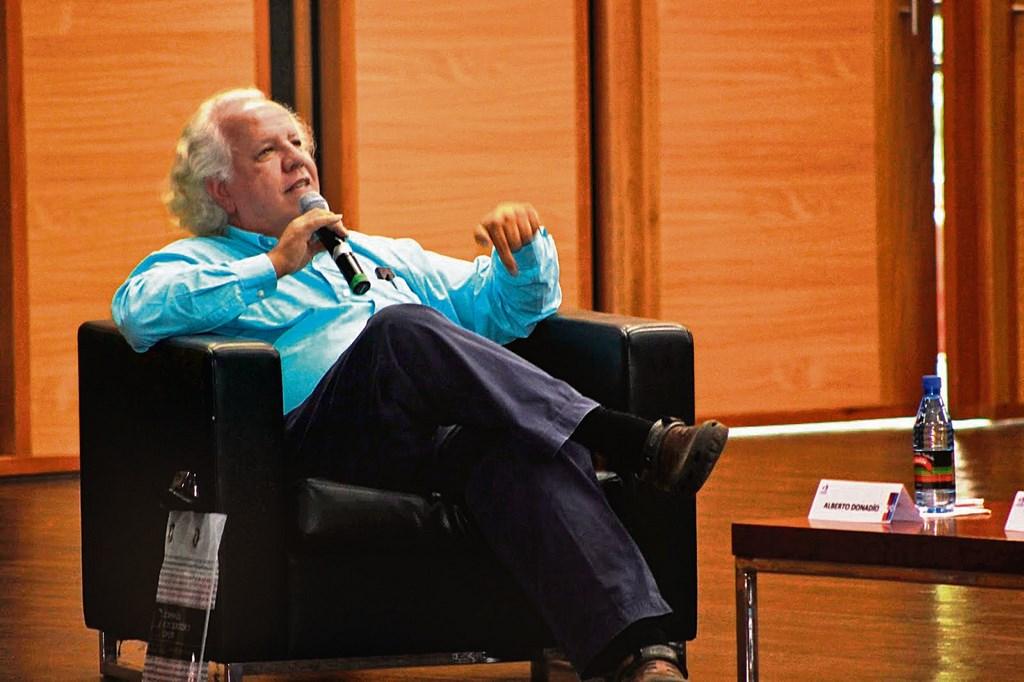 El periodista Alberto Donadio Copello. /FOTOS ARCHIVO PERIÓDICO 15