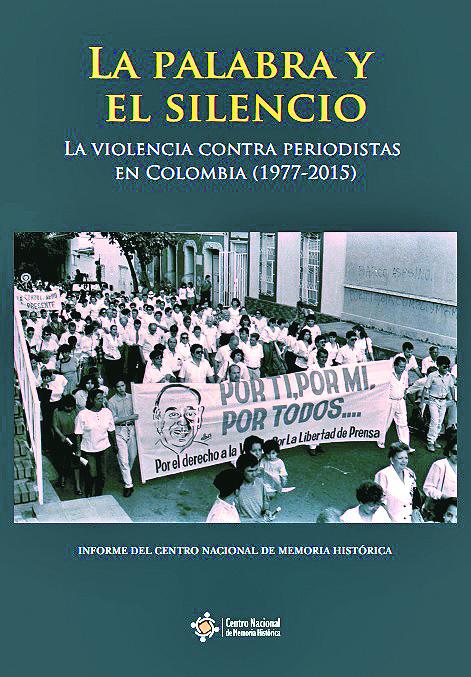 """Portada libro del libro """"La Palabra y el silencio"""".//TOMADO DEL CENTRO DE MEMORIA HISTÓRIC"""