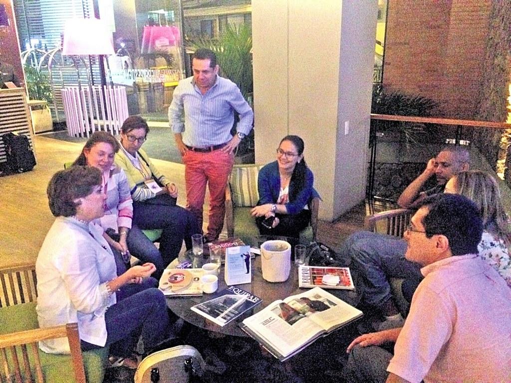Reunión en el Hotel Tryp Bucaramanga. / FOTO JUAN MANUEL SÁNCHEZ