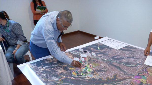 El Plan Maestro Limítrofe fue desarrollado de la mano con las comunidades en alianza con ONU-Hábitat. /FOTO SUMINISTRADA ÁREA METROPOLITANA DE BUCARAMANGA.