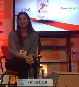 Patricia Engel es la primera mujer en obtener el Premio Biblioteca de Narrativa Colombiana en enero del presente año./ FOTO Pilar Mejía