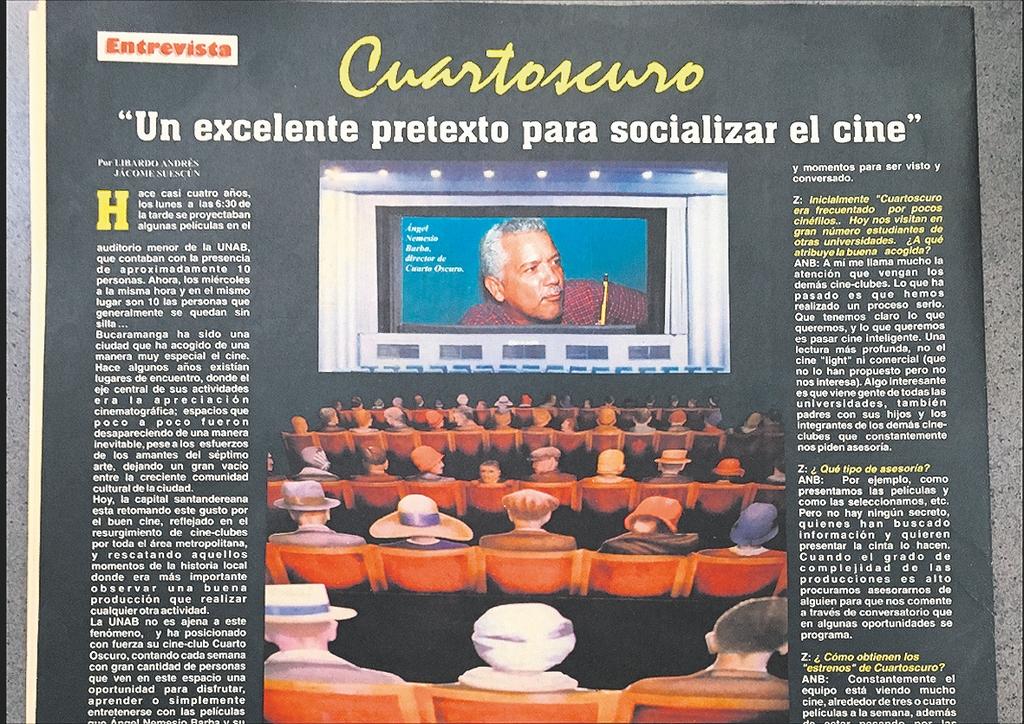 Edición número 19 del Periódico Z en el año 2000 en la Universidad Autónoma de Bucaramanga./ FOTO KAREN GUALDRÓN.