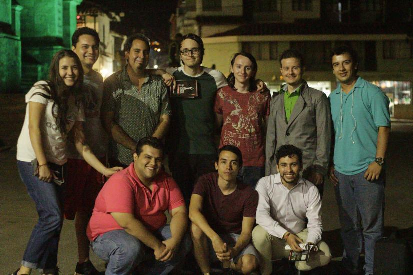 Integrantes de la corporación FICSO./ FOTO POR MARÍA GARCÍA